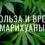 Польза и вред марихуаны
